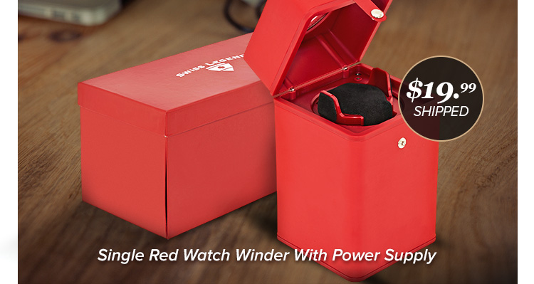 Sl Red Watch Winder 20 Fs With Code Sdsl30